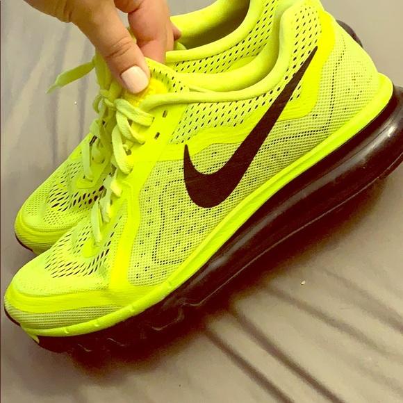 Nike Shoes | Nike Neon Yellow Air Maxx